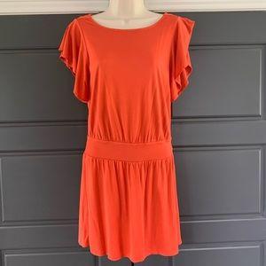 BANANA REPUBLIC ❤️100% knit silk dress